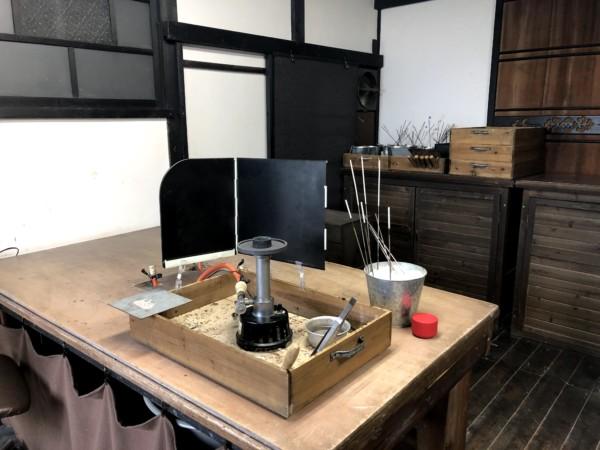 長屋敷窯 とんぼ玉教室