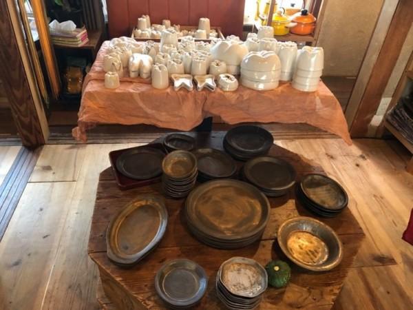 錆と煤 インド料理のための器展