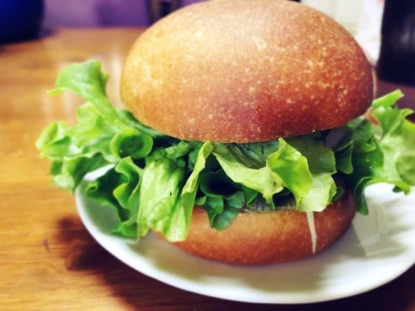 レタス盛々ハンバーガー
