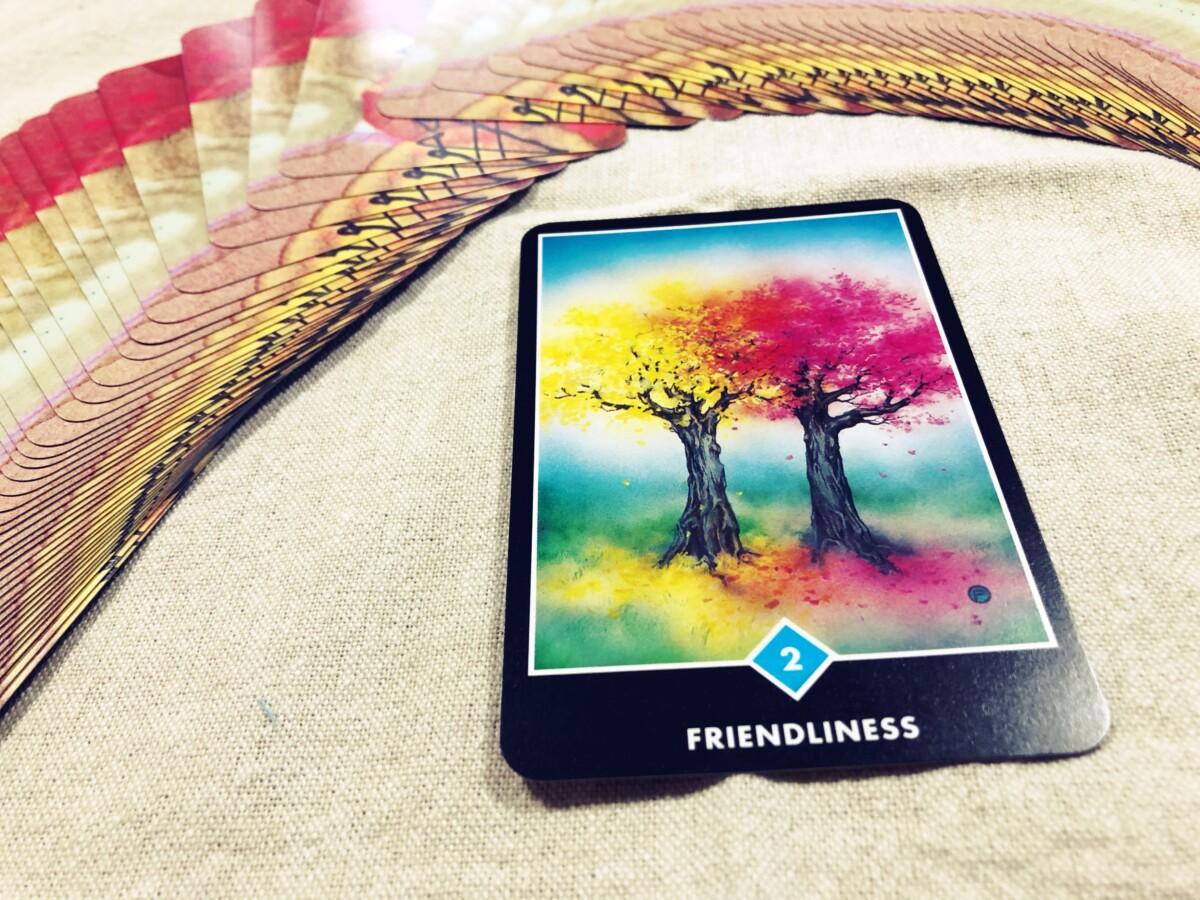 Friendriness:親しさ