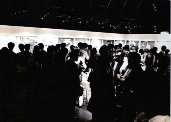 アンディ・ウォーホル全国展 オープニングパーティ 1983 渋谷パルコ