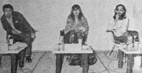 1974年9月30日 アンディ・ウォーホル大回顧展 記者発表会見