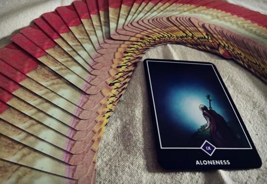 大アルカナ9 Aloneness:独りあること